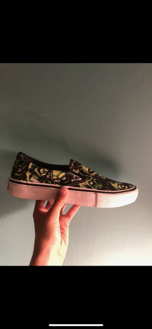 Supreme skul pile vans size 8.5 DS for Sale in Plainfield, IL