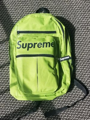 Lime-green backpack; standard-sized for Sale in Aiea, HI
