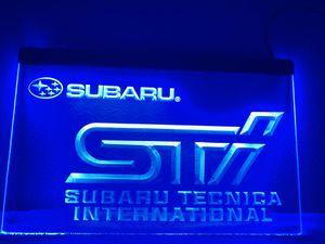 """Subaru STI Lighted Sign (8""""x12"""") for Sale in Mokena, IL"""