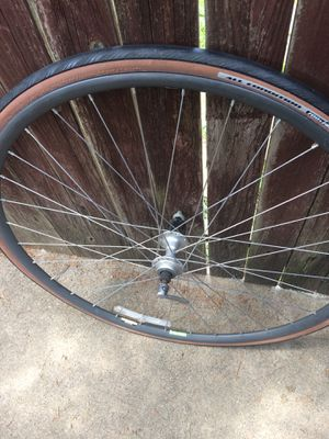 Rear wheel matrix 700 I think 7-8-9 speed $40 ,stand for two bicycles $40 sirius buyers for Sale in Grapevine, TX
