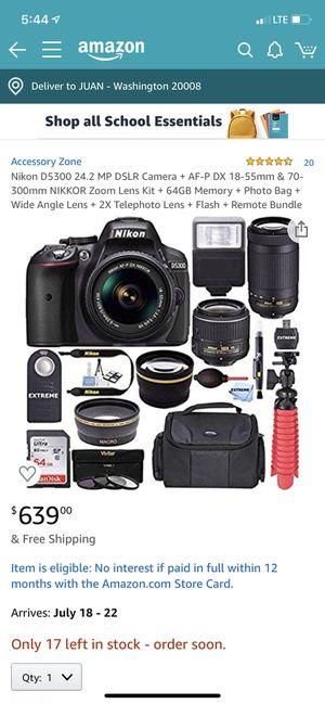 Nikon D5300 + Super Lenses + Kits 16 items for Sale in Washington, DC