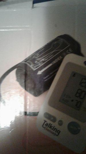 Talking blood pressure machine for Sale in Alexandria, LA