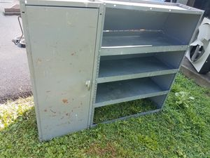 Shelves all metal for Sale in Landisburg, PA