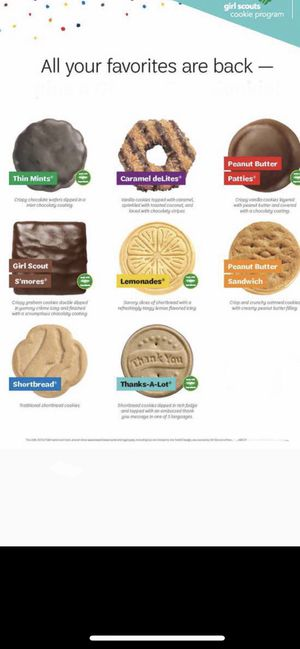 Girl Scout cookies for Sale in Fowler, CA