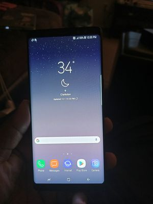 Unlocked T-mobile Note 8 (cracked camera lens) for Sale in Decatur, GA