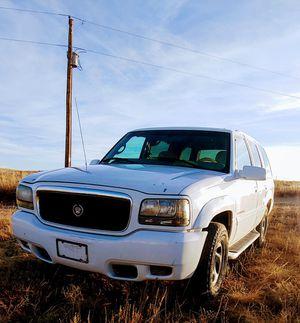 1999 Cadillac escalade for Sale in Colorado Springs, CO