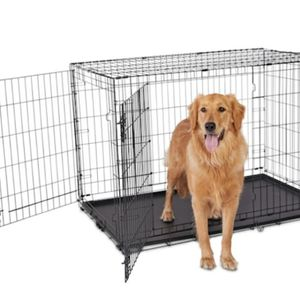 "Animaze 2-Door Folding XL Extra Large Dog Crate, 48.5"" L x 30.2"" W x 32"" H for Sale in Castro Valley, CA"