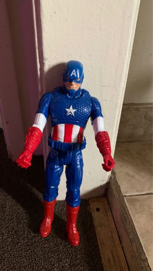 Captain America Figure toy for Sale in South Gate, CA