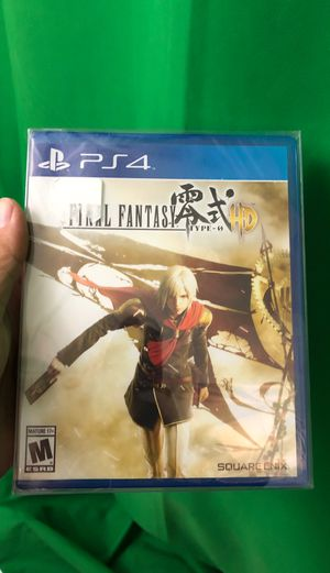 Final Fantasy Type-0 HD (PS4, Brand New) for Sale in Vail, AZ