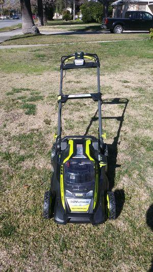 Ryobi brand new 40 volt lithium self-propelled lawn mower for Sale in San Bernardino, CA