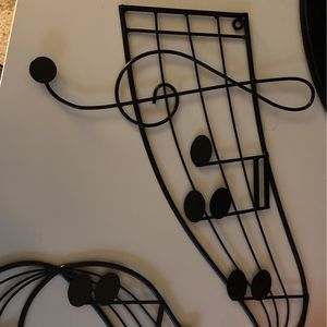 Music Note Wall Decor for Sale in Galloway, OH