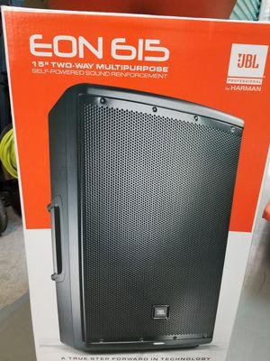 """JBL Powered Speaker Eon 615 15"""" 2 way. for Sale in Boynton Beach, FL"""