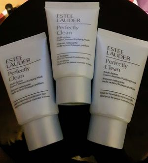 ESTEE LAUDER PERFECTLY CLEAN MULTI ACTION FACE WASH/MASK for Sale in Marysville, WA