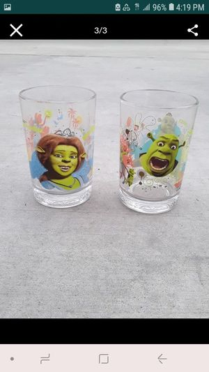 Shrek collected glasses from Mcdonalds for Sale in Riverside, CA