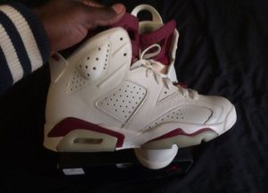 Air Jordan 6 maroon for Sale in St. Louis, MO