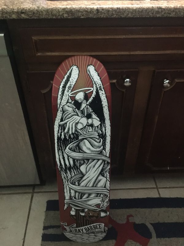 Element Tribute Collection- Ray Barbee Ascension Deck Red. Skateboard