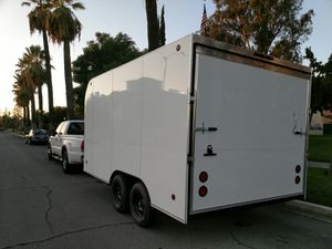 "14' enclosed 8.5' wide rental trailer. 8.5' wide x 7' tall with 6'6"" door. 36"" RV Side door + 4 D rings in floor. Rent $140/ day. for Sale in Irvine, CA"