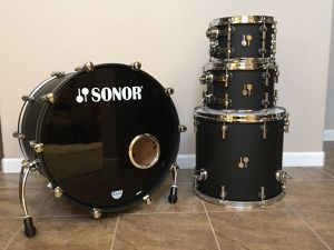 Sonor SQ2 Vintage Maple, Dark Satin 4-Shell Pack for Sale in Rocklin, CA