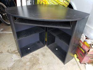 Corner computer desk - black for Sale in Linda, CA