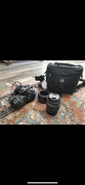 Sony A57 DSLR Camera + DT 55-200 Lense for Sale in San Diego, CA