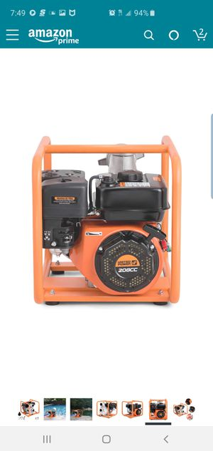 3 inch water pump for Sale in Everett, WA