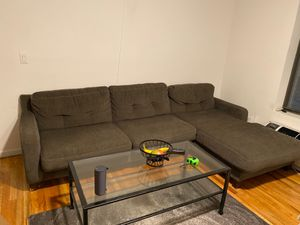 Big gray sectional couch for Sale in New York, NY