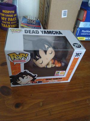 DBZ Dragon Ball Z SDCC Sticker Exclusive Dead Yamcha Funko Pop for Sale in San Diego, CA