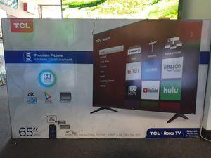 """65"""" TCL 4K Roku TV for Sale in Santa Ana, CA"""