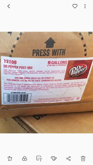 Drinks dr.pepper mix fountain for Sale in Garland, TX