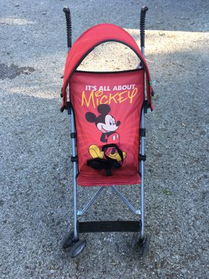 Mickey Mouse stroller for Sale in Columbus, OH
