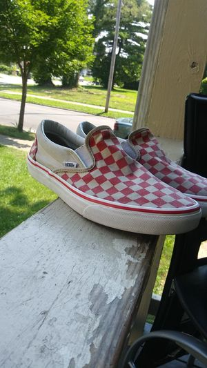 Checkered low top Vans for Sale in Columbus, OH