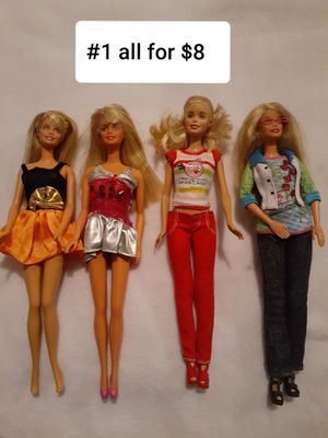 #1 (4 PIECE BARBIES ALL FOR $8) for Sale in Las Vegas, NV