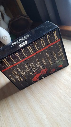 Alfred Hitchcock VHS tapes box for Sale in Akron, OH