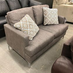 In STOCK 🤙Take It With Only $39 Down 🤙🤙 Arcola Java Sofa & Loveseat Living Room Set by Ashley, For Sale From An Actual Store 🤙🤙 for Sale in Wilmington,  DE
