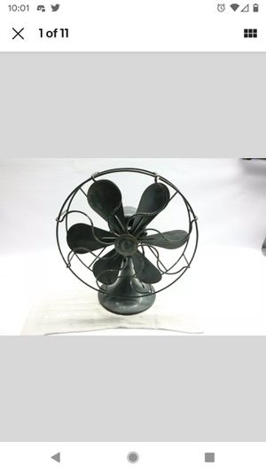 """Used Antique Command Air 11"""" Electric Desk Fan - 6 Blades - 1 Speed - Working! U for Sale in Brockport, NY"""