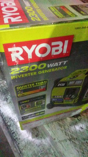 2300 watt ryobi generator / inverter brand new in box for Sale in Columbus, OH