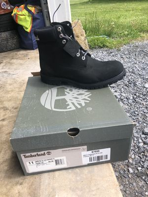 Timberland size 11 Black Boots for Sale in Bunker Hill, WV