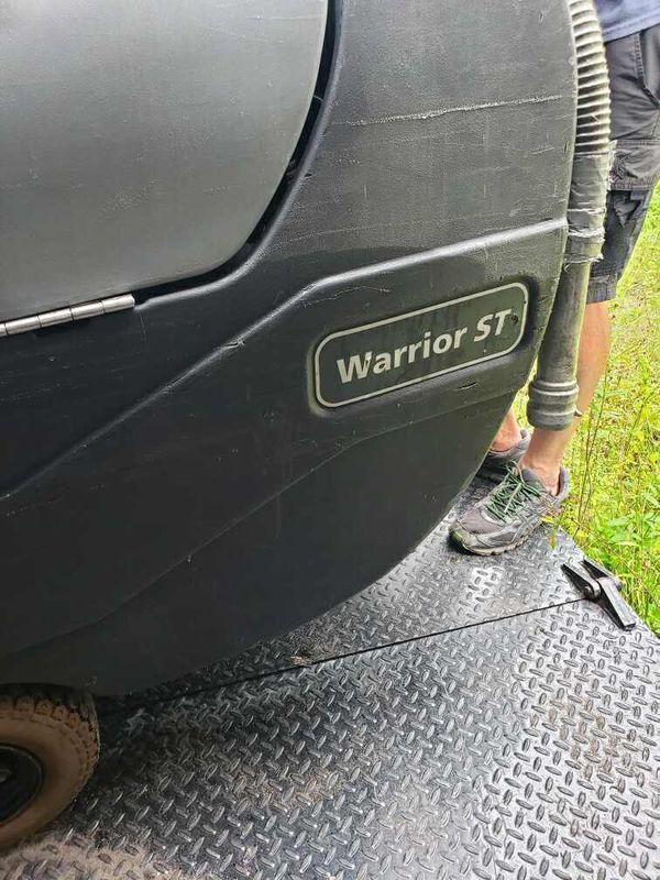 Warrior st floor scrubber