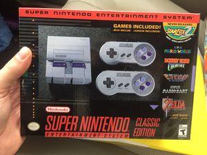 Super Nintendo classic for Sale in Houston, TX