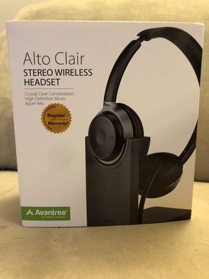 Avantree Alto Clair aptX HD Wireless Headphones for Sale in Lorton, VA