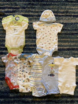 Newborn outfits lot - multiple brands for Sale in Allen, TX