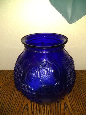 Cobalt blue vase for Sale in Woodland, WA
