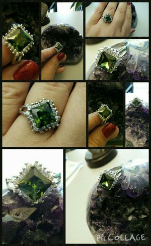 Peridot and silver ring for Sale in Escondido, CA