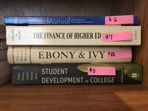 Higher Education Student Affairs Leadership textbooks for Sale in Brighton, CO