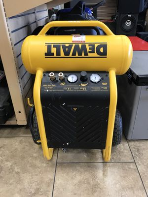 Dewalt stand up compressor for Sale in Goodyear, AZ