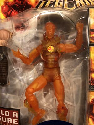 "Marvel Legends Human Torch 6"" 2008 BAF Collection Ares Series Walmart Exclusive for Sale in Fresno, CA"