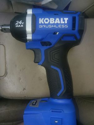 Kobalt 24-volt Max-volt 1/2-in Drive Cordless Impact Wrench (Tool Only!) for Sale in Seattle, WA