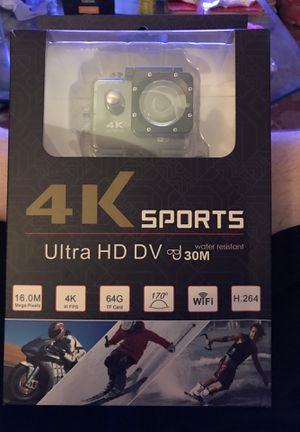 4K Sports Camera for Sale in Poway, CA