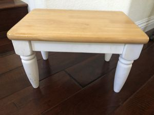 Small wooden foot stool for Sale in Carlsbad, CA