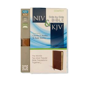 Compact NIV & KJV Leather Bound Holy Bible for Sale in Dacula, GA